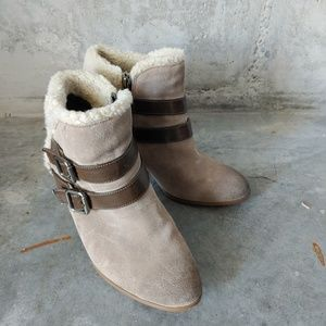 Libby Edelman Ankle Boots size 8.5